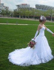 Екслюзивне весільне плаття