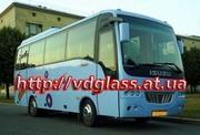 Автостекло триплекс,  лобовое стекло для автобусов Isuzu