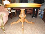 Столи из массива дерева(Италия)