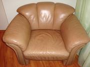 Крісло шкіряне