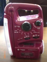 Радіо+ магнітофон+ ліхтар