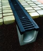 Система водовідведення,  водостоки,  бетонні жолуби Тернопіль