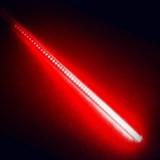 Гирлянда Тающие сосульки LED,  20 см красная