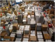 сток техники на палетах - ЛОТЫ - конфискат техники - распродажа