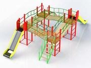 детские площадки..